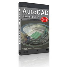 AutoCAD 2013 Express Eğitim DVD