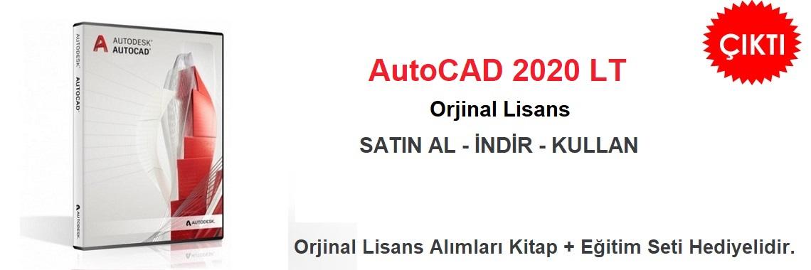 AutoCAD 2020 LT Lisans