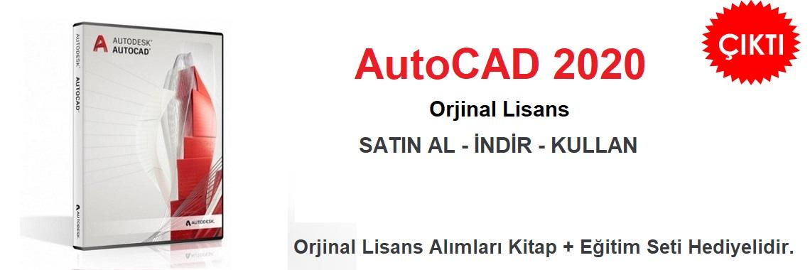 AutoCAD 2020 Lisans