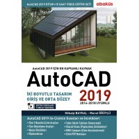AutoCAD 2019 Kitap + Video Eğitim Seti