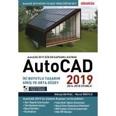 AutoCAD 2019 Kitap + Video Eğitim Seti